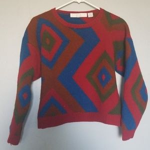 Perry Ellis vintage knitted sweater